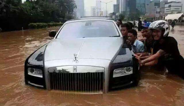 Flood in Asia