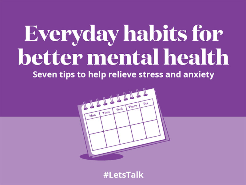 Everyday habits for better mental health
